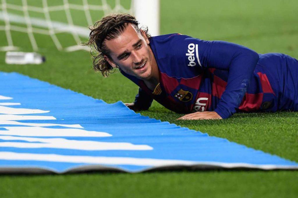 Barcellona, 300 euro di multa per acquisto Griezmann