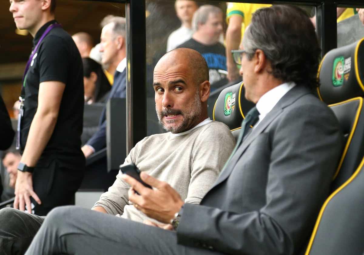 Guardiola sotto esame della dirigenza del Man City