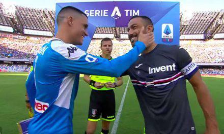 Serie A: Gli highlights di Napoli – Sampdoria 2-0 Gol e Azioni di gioco – VIDEO
