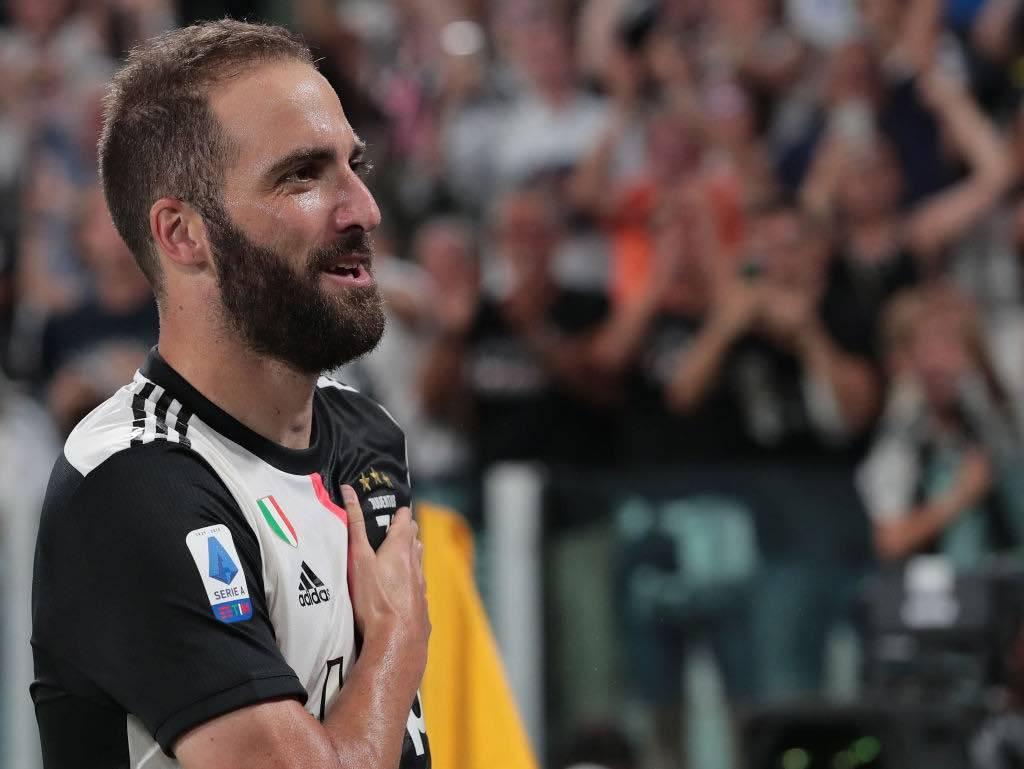 Juventus, a tutto Higuain