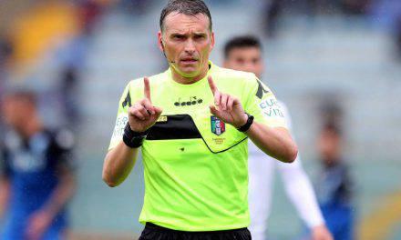 Arbitri 3a giornata Serie A: Fiorentina-Juventus a Irrati. Mariani per Inter-Udinese