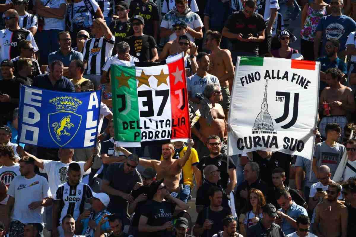 Juventus, contro il Verona sciopero degli ultras