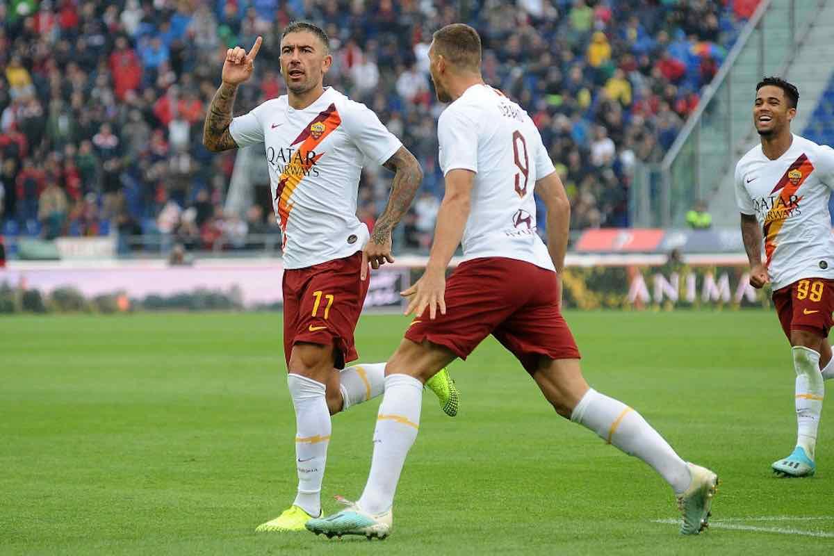 Serie A: Dzeko extremis Bologna-Roma 1-2, Sampdoria sblocca