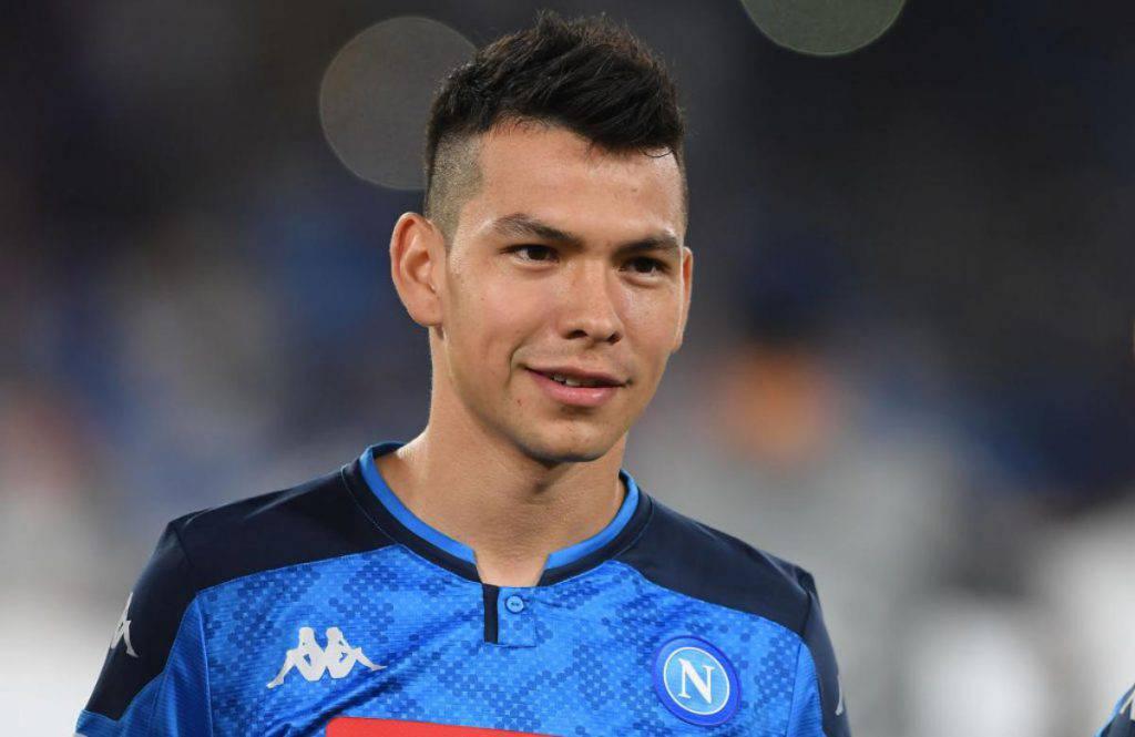 Lozano parla del Napoli