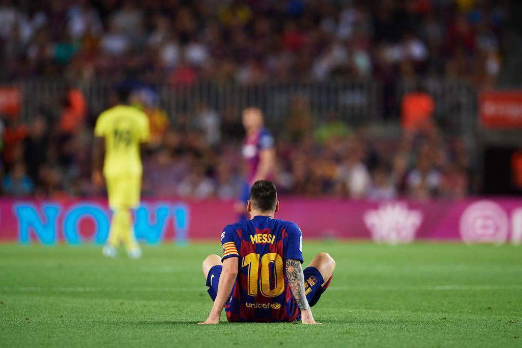 Problema muscolare per Messi