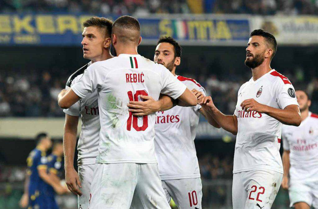 Milan trova tre punti a Verona