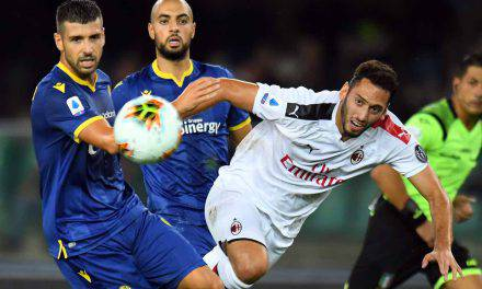 Serie A: highlights di Verona-Milan 0-1 sintesi della partita e gol – VIDEO