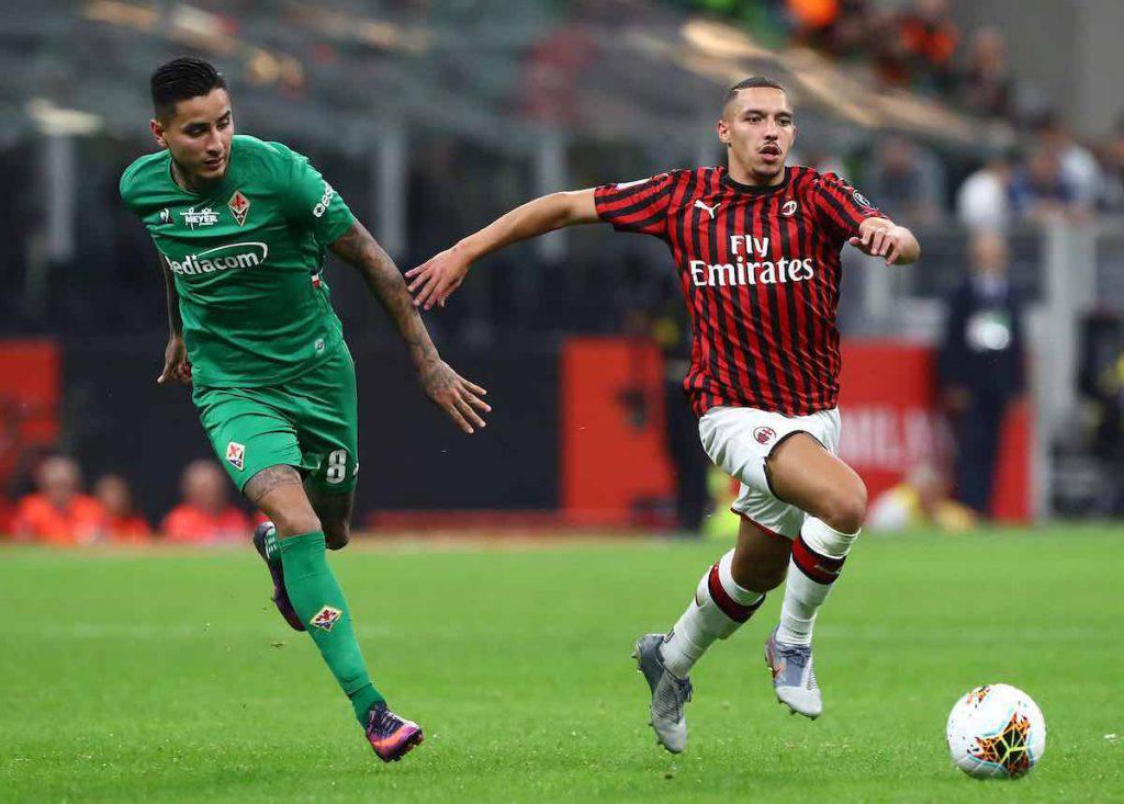 Il Milan perde con la Fiorentina