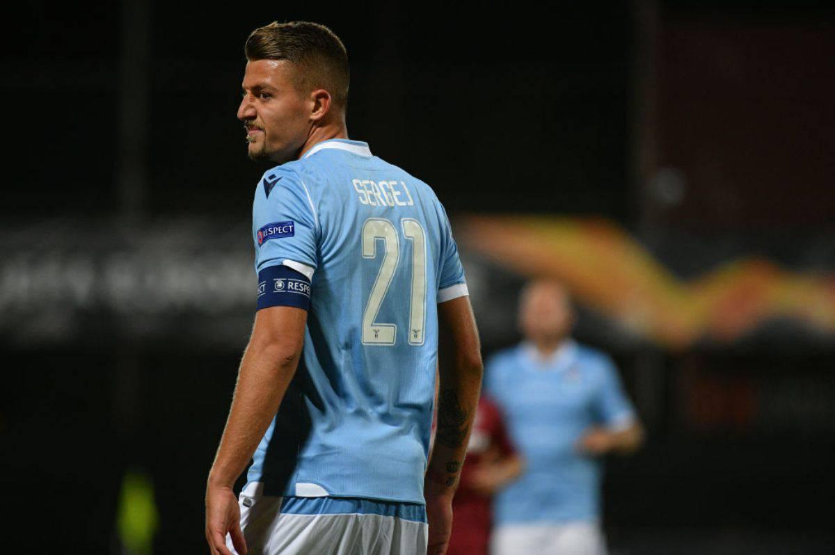 Milinkovic-Savic decise l'ultimo Inter-Lazio