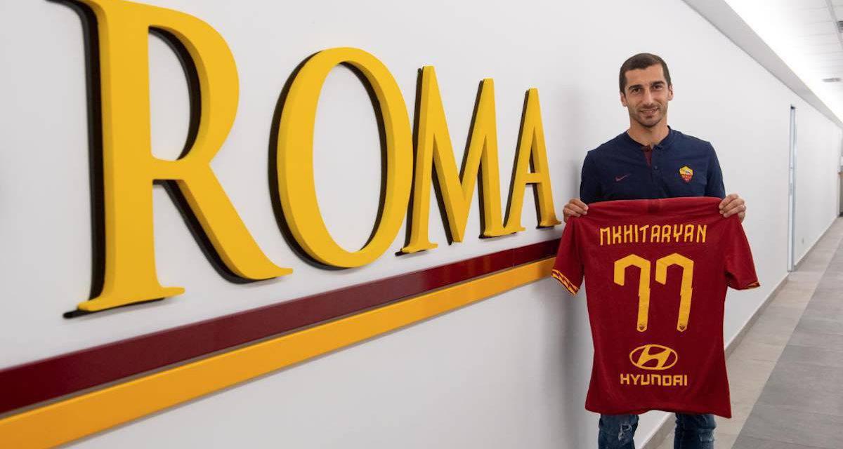 """Roma, ecco Mkhitaryan: """"La Premier è il passato. La Serie A una grande occasione"""""""