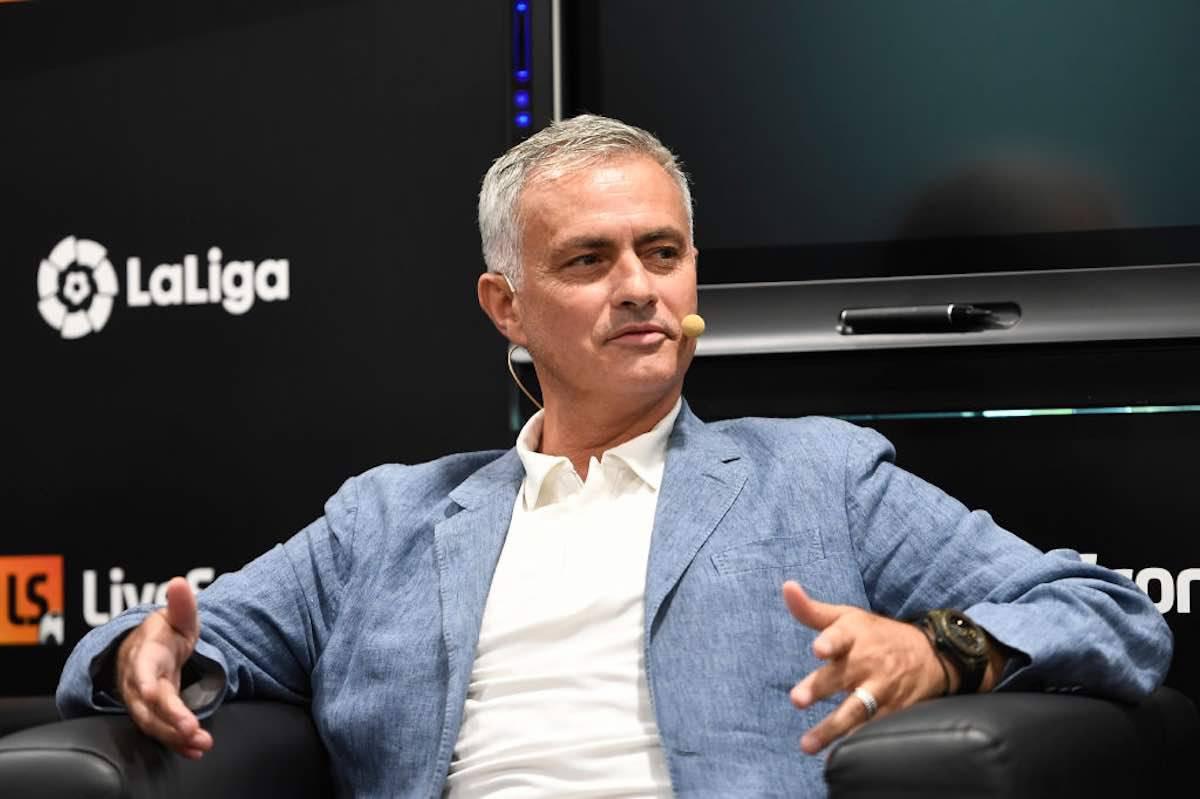 Amadeus rivela messaggio Mourinho