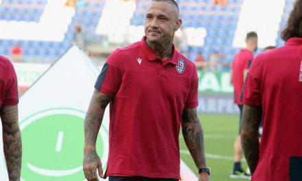 Cagliari, Nainggolan infortunato: problema al polpaccio sinistro