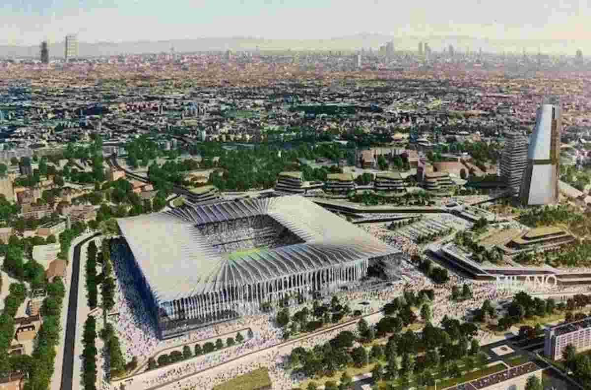Nuovo stadio Milan e Inter: il progetto Populous