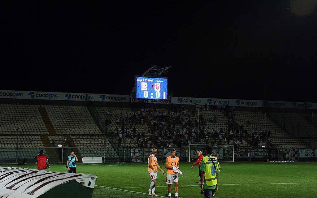 Modena-Padova in diretta tv e streaming gratis: dove vedere il match oggi