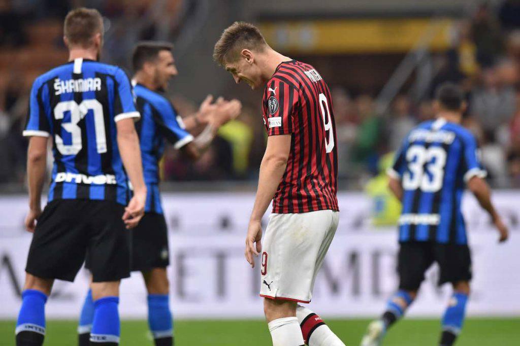 Il Milan esce sconfitto da San Siro