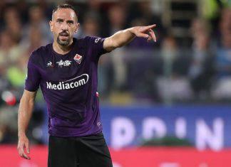 Ribery in campo per Milan-Fiorentina