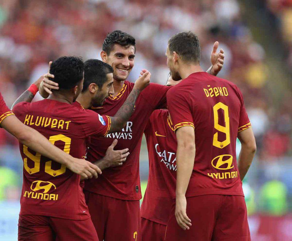 Roma vince col Sassuolo in casa