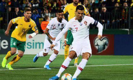 Cristiano Ronaldo, altro record: primato di gol nelle qualificazioni europee