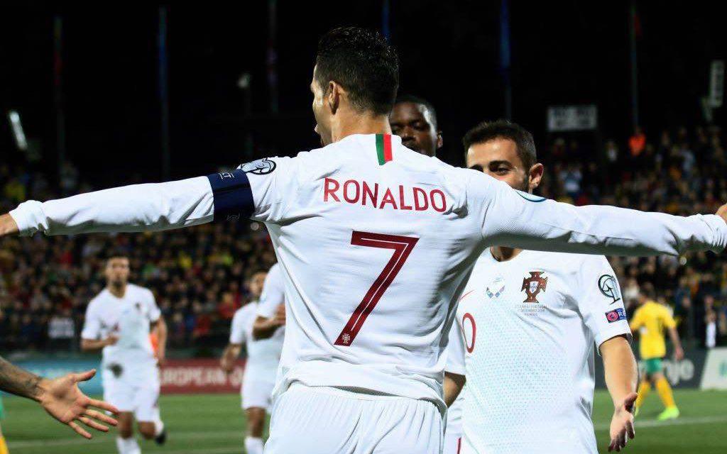 Qualificazioni Euro 2020: poker Ronaldo col Portogallo, manita inglese al Kosovo