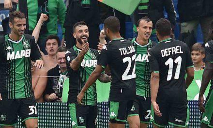 Serie A, Sassuolo-SPAL 3-0: doppietta Caputo, Duncan chiude