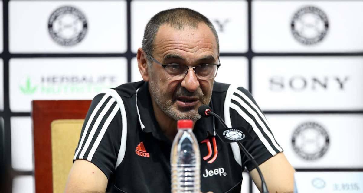 """Fiorentina-Juventus, Sarri: """"Non vedevo l'ora di tornare. Emre Can? Capisco la reazione"""""""