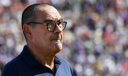 """Fiorentina-Juventus, Sarri: """"Dobbiamo migliorare tecnicamente. Infortuni? Douglas Costa più grave"""""""
