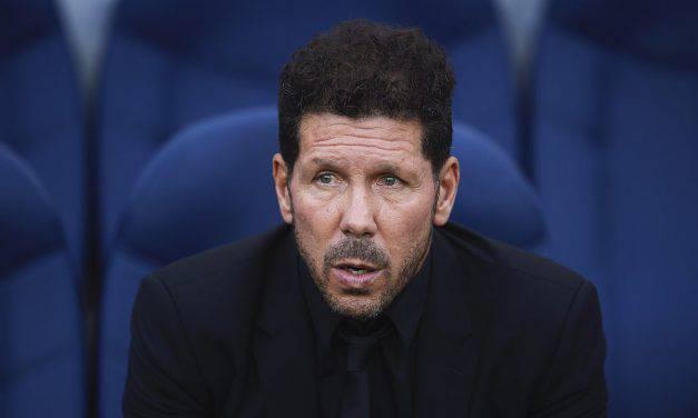 """Atletico Madrid-Juventus, Simeone: """"Sono preoccupato, la squadra deve crescere ancora"""""""