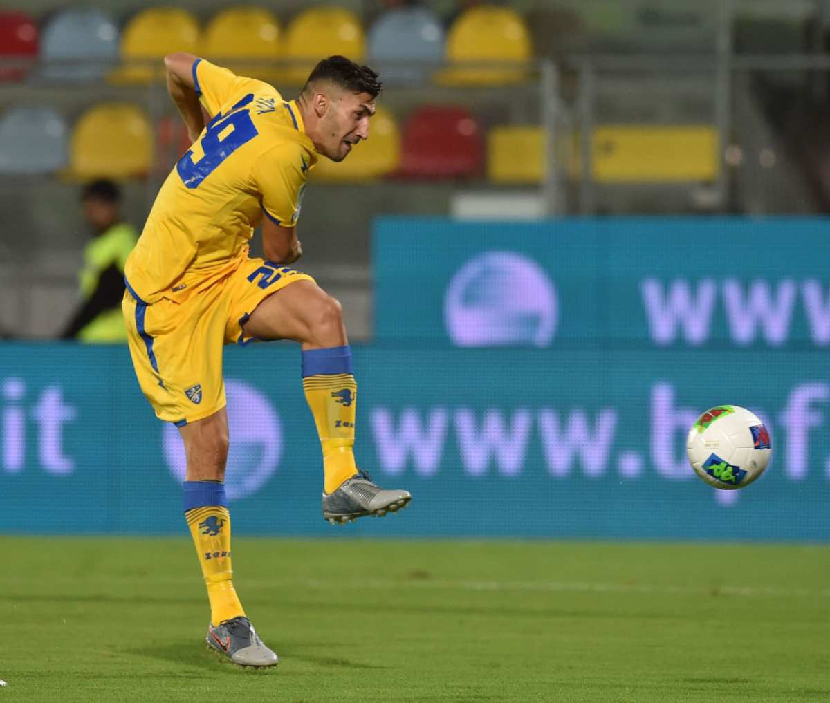 Marcello Trotta cerca il primo gol con il Frosinone