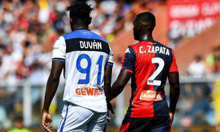 Serie A, Genoa-Atalanta 1-2: video gol e highlights. Zapata, che prodezza