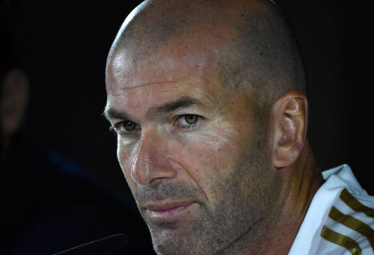 Zinedine Zidane conferenza stampa