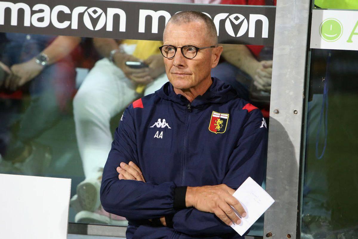 L'allenatore del Genoa Aurelio Andreazzoli