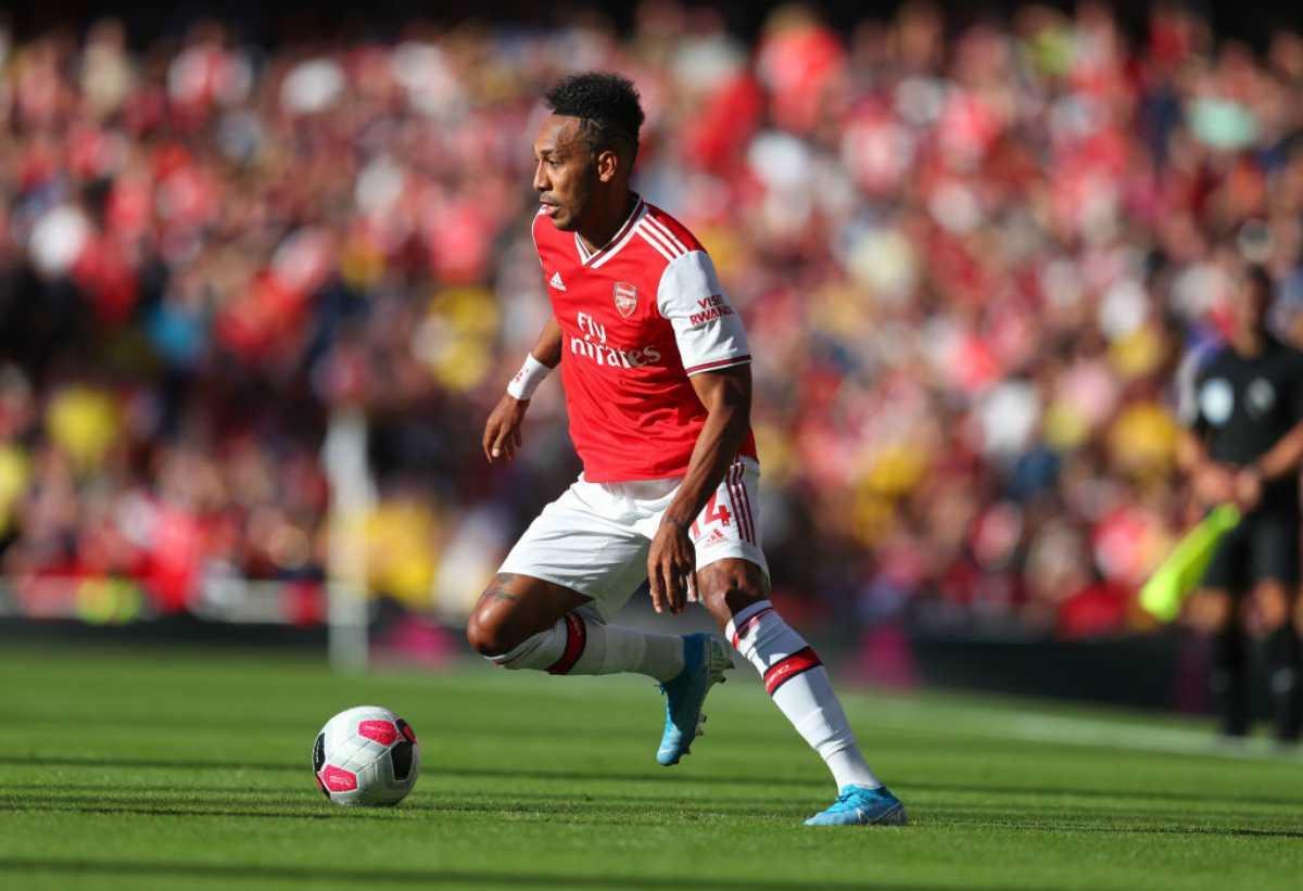 Europa League, Pierre-Erick Aubameyang stella dell'Arsenal
