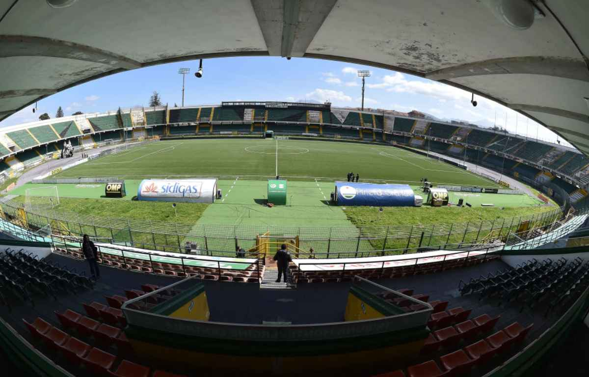 Lo stadio di Avellino