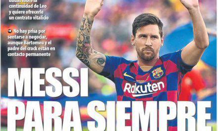 Messi a vita al Barcellona, i blaugrana vogliono blindare l'argentino