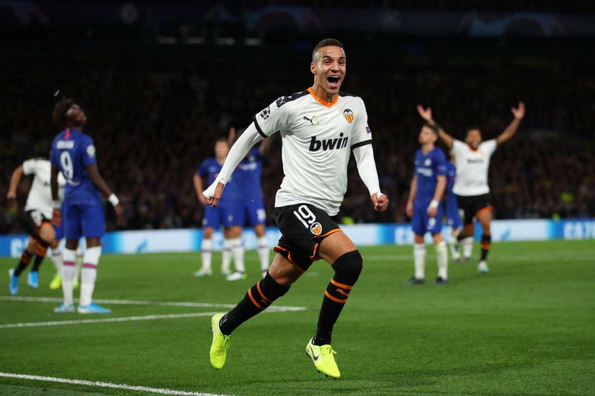 Rodrigo, suo il gol decisivo in Chelsea-Valencia