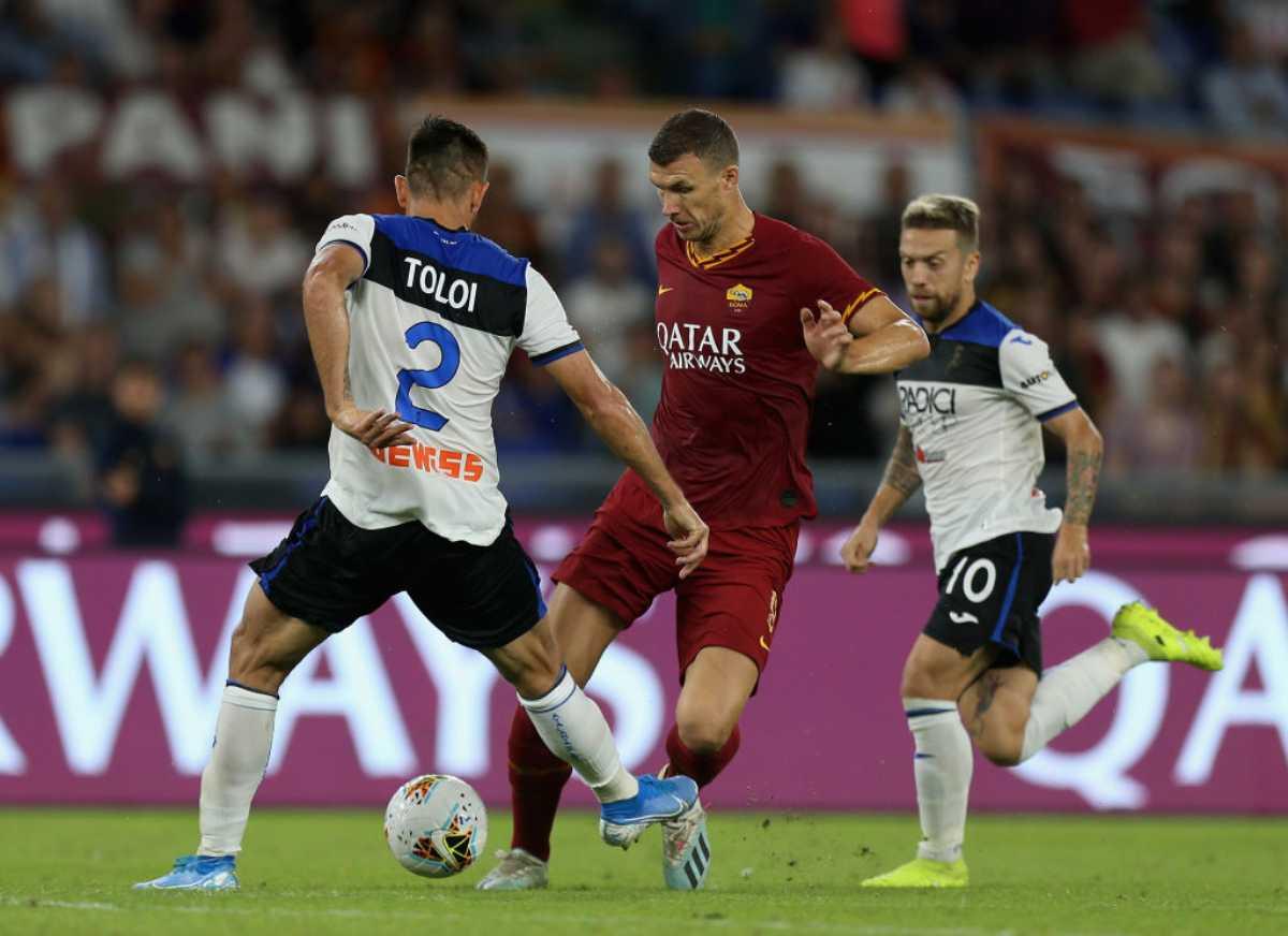 Roma-Atalanta nella 5.a giornata di Serie A
