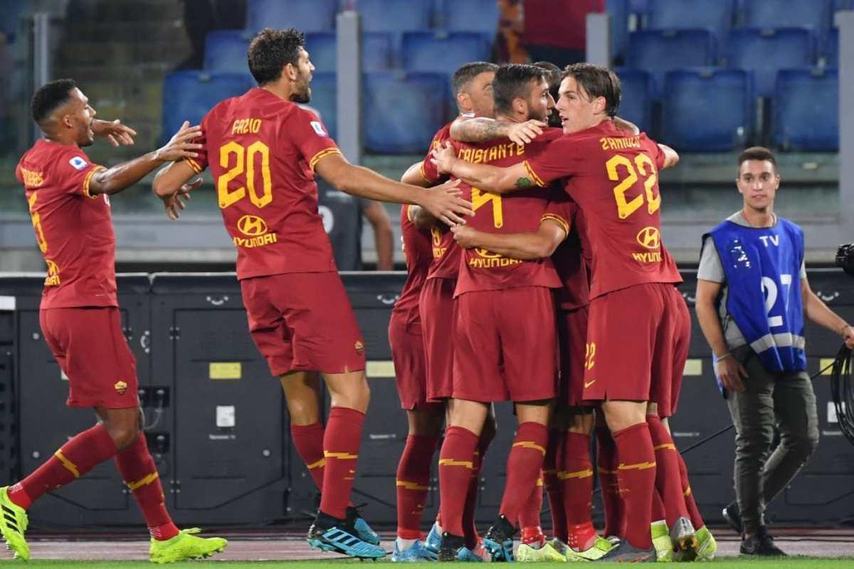 Roma-Sassuolo nella 3.a giornata di Serie A