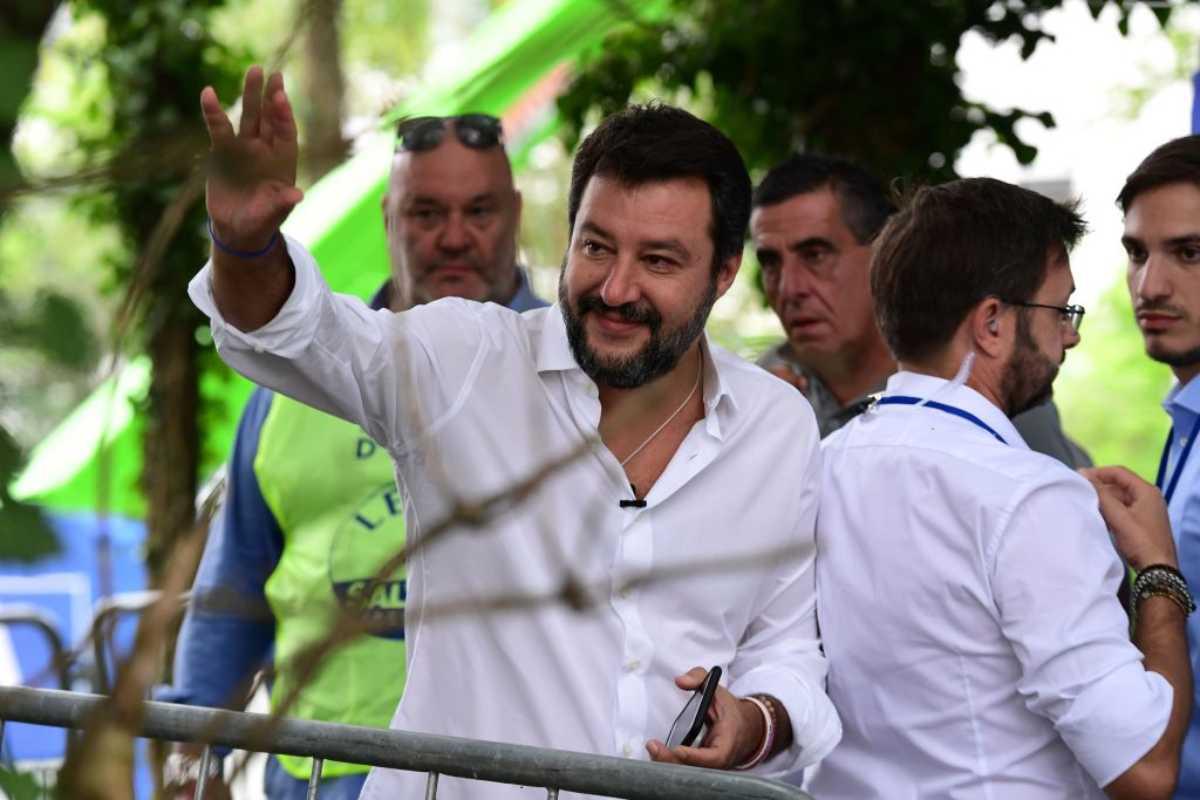 Salvini boccia nuovo stadio del Milan