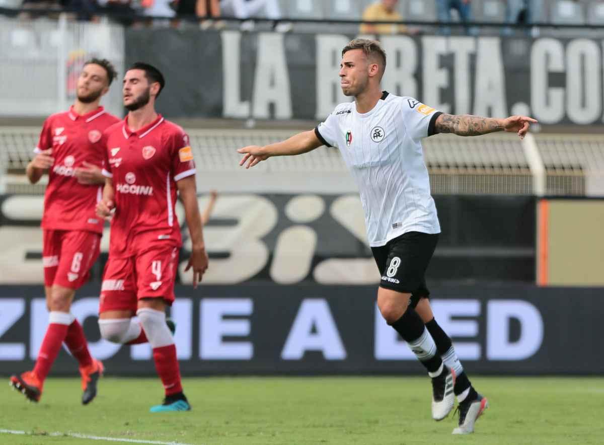 Serie B, lo Spezia batte il Perugia in rimonta