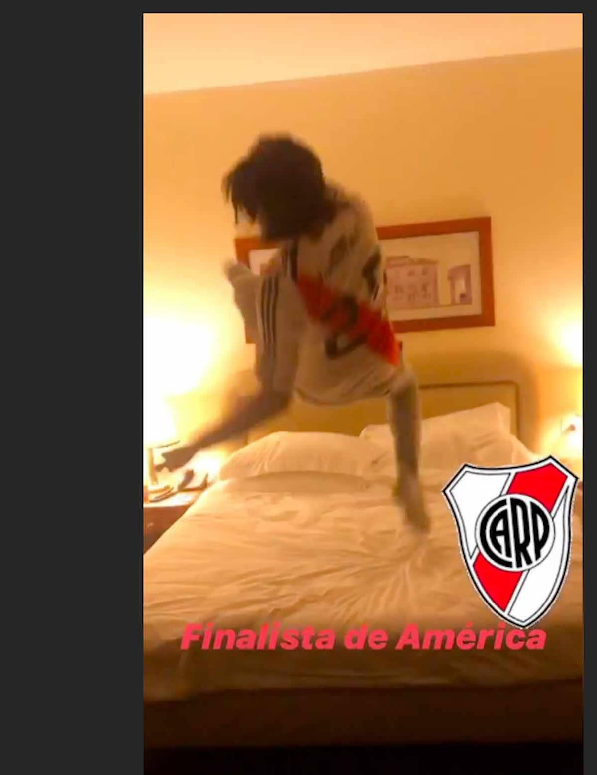 Adani impazzisce di gioia per il River in finale di Libertadores