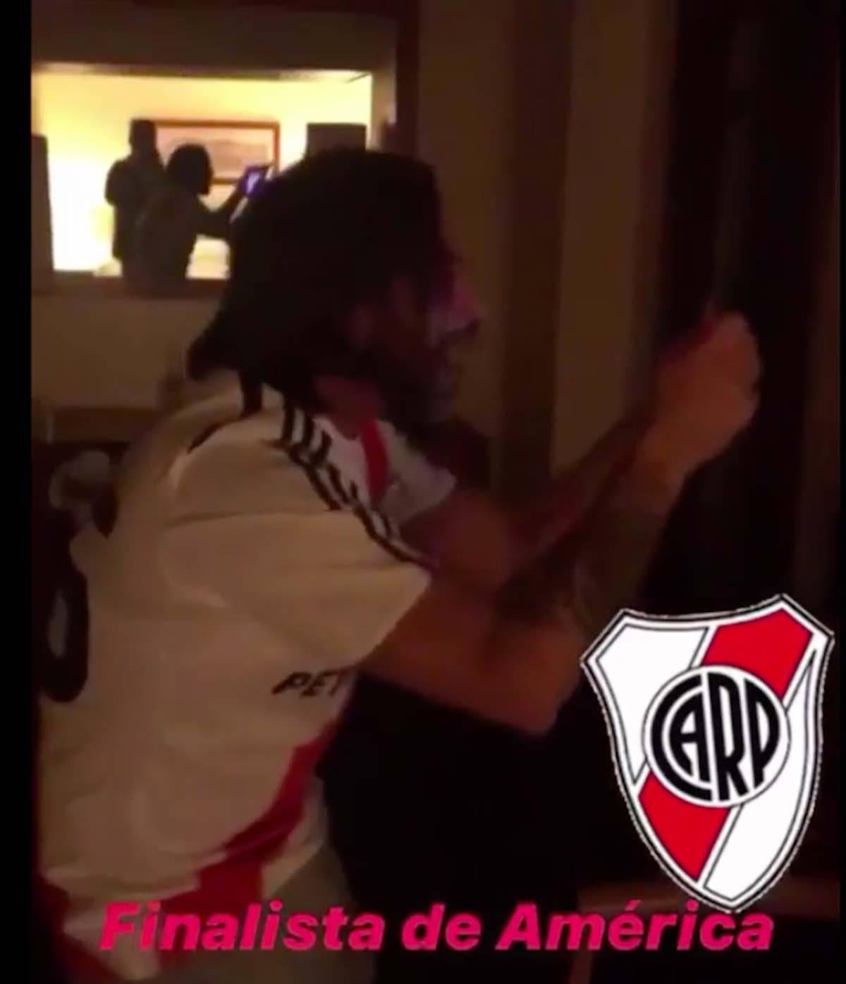 Adani scatenato per il River Plate finalista della Copa Libertadores 2019 - 2-