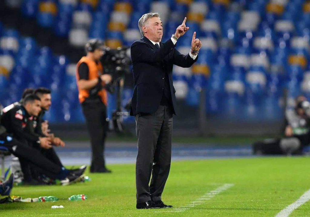 Ancelotti nel post partita contro l'Atalanta