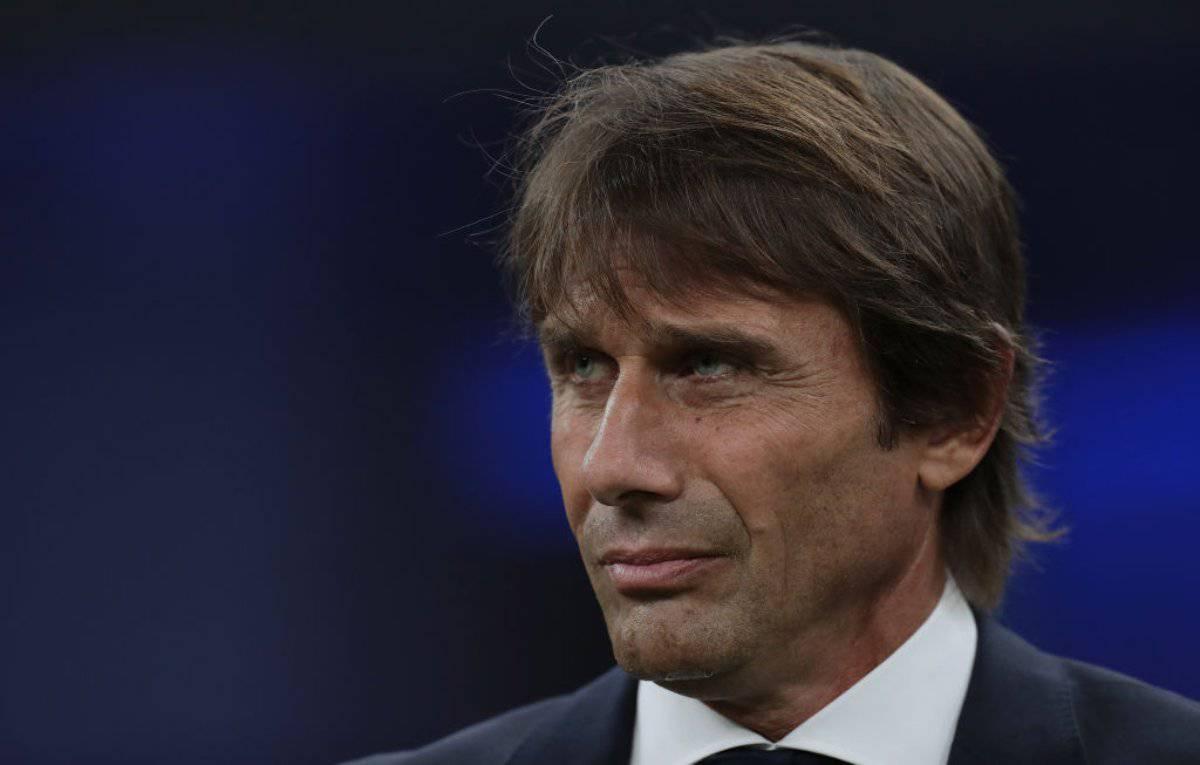 Conte conferenza stampa Barcellona-Inter