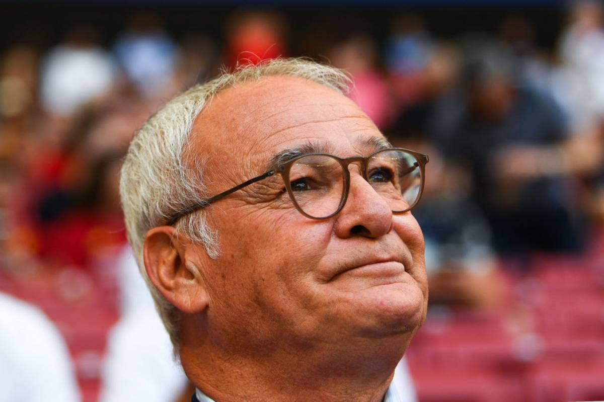 Claudio Ranieri lacrime Sampdoria-Roma
