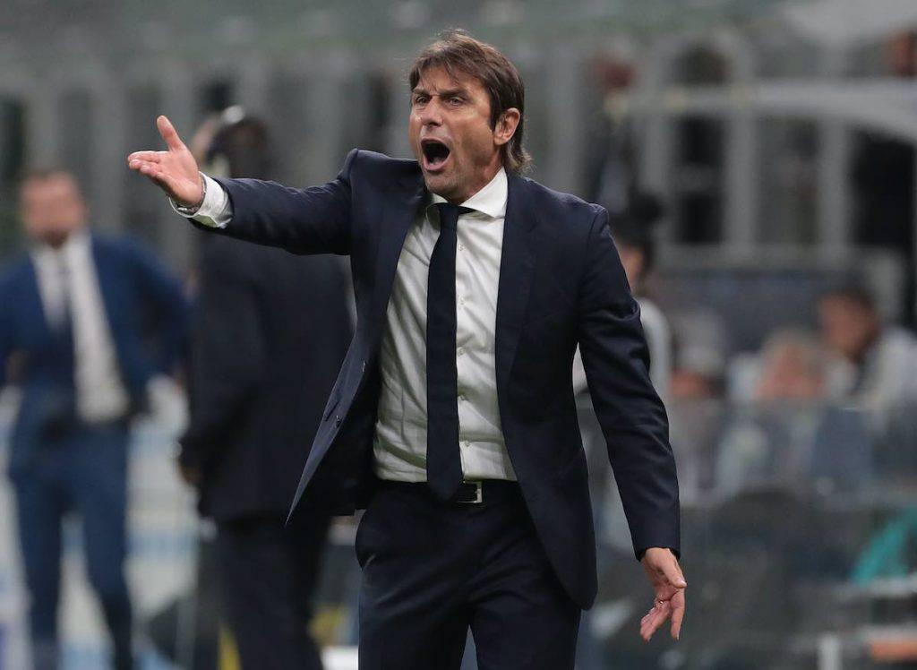 Conte nel post gara col Parma