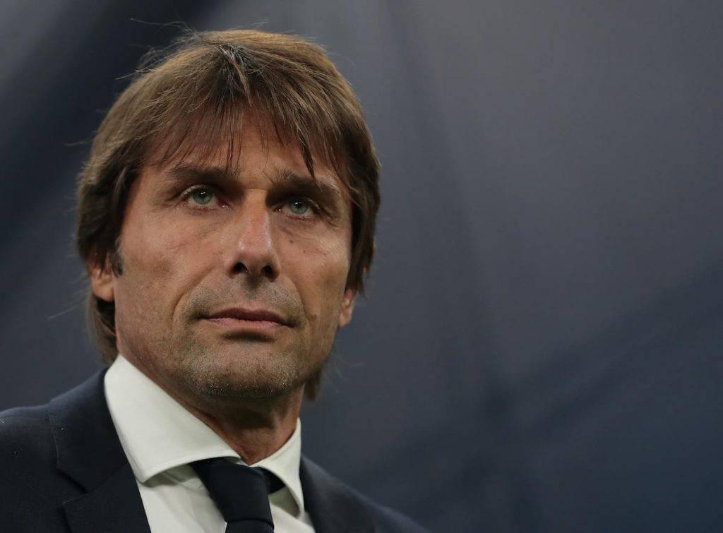 Conte nel post partita contro il Bologna