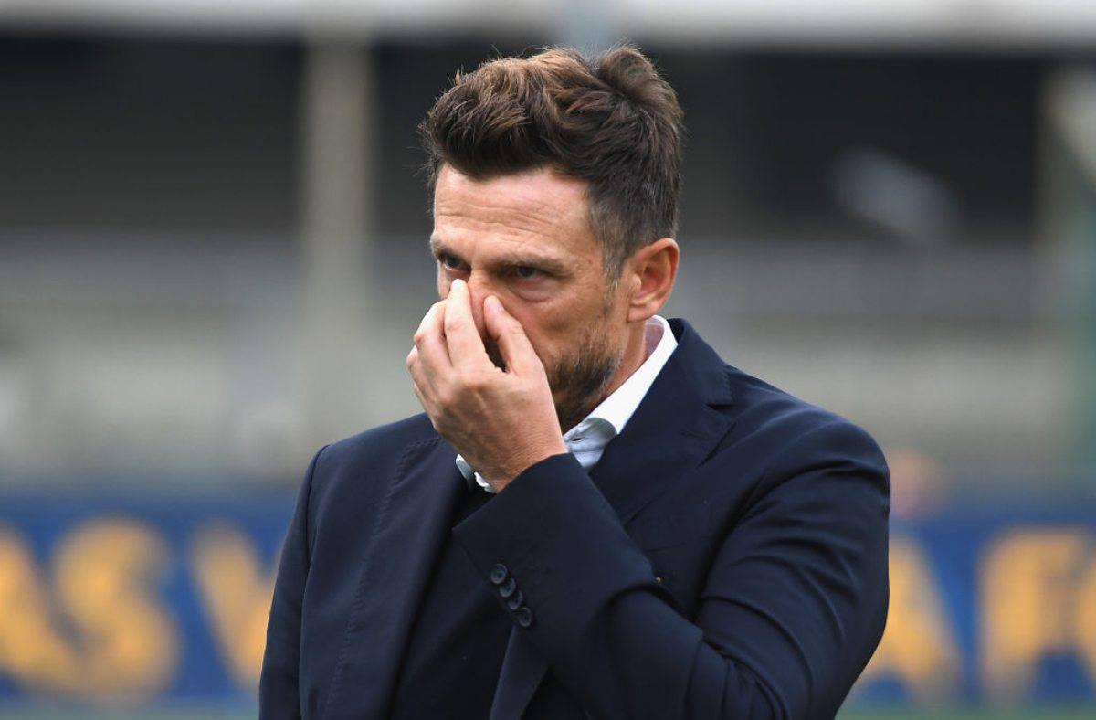 Eusebio Di Francesco, ex allenatore della Sampdoria