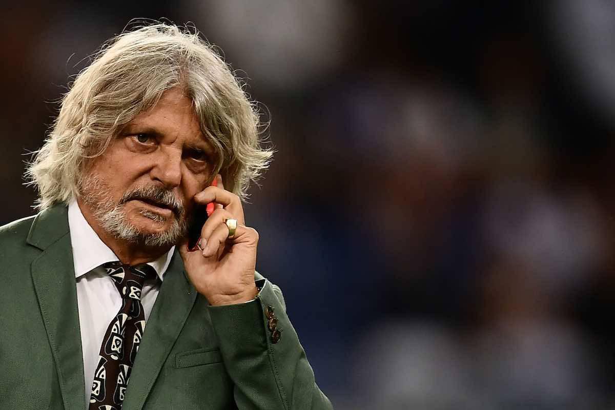Ferrero ancora minacciato il presidente della Sampdoria