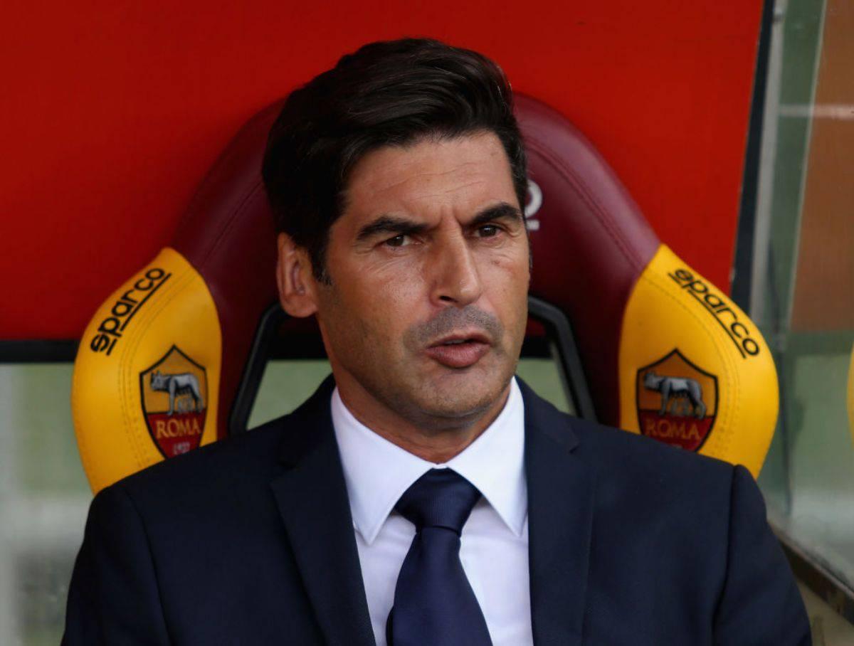 Paulo Fonseca conferenza stampa Roma-Borussia Monchengladbach