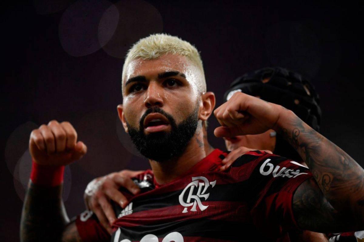 Gabigol Flamengo Gremio